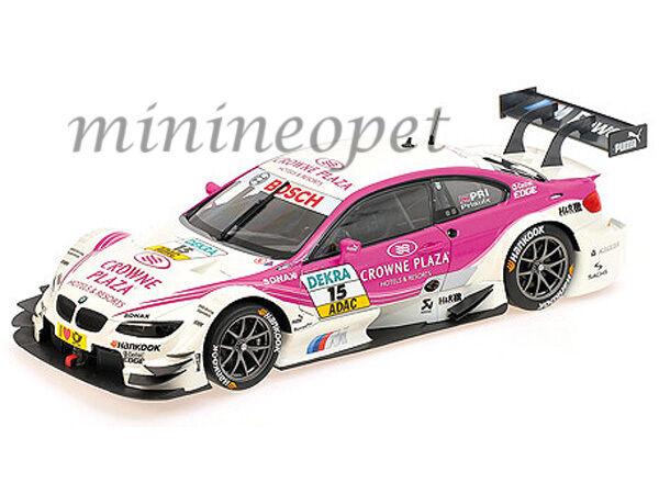 MINICHAMPS 100-122215 BMW M3 DTM BMW Team Rbm Mampaey  15 1 18 Andy Priaulx