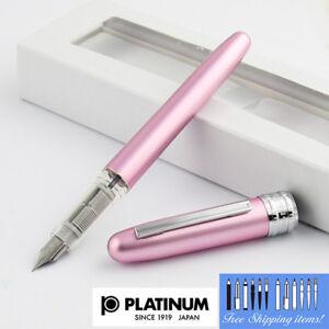 Platinum-Plaisir-Fountain-pen-Fine-Nib-Pink-body-With-Box-PGB-1000-21-2-Japan