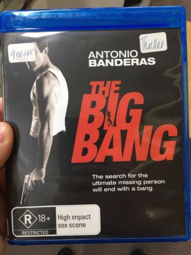1 of 1 - The Big Bang ex-rental BLU RAY (2010 Antonio Banderas action thriller movie)