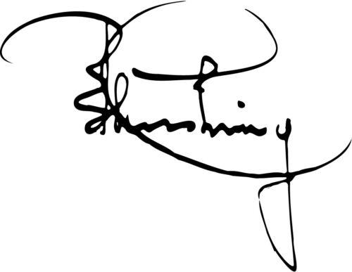Peter Cushing Signature autograph VINYL DECAL STICKER Star Wars Moff Tarkin