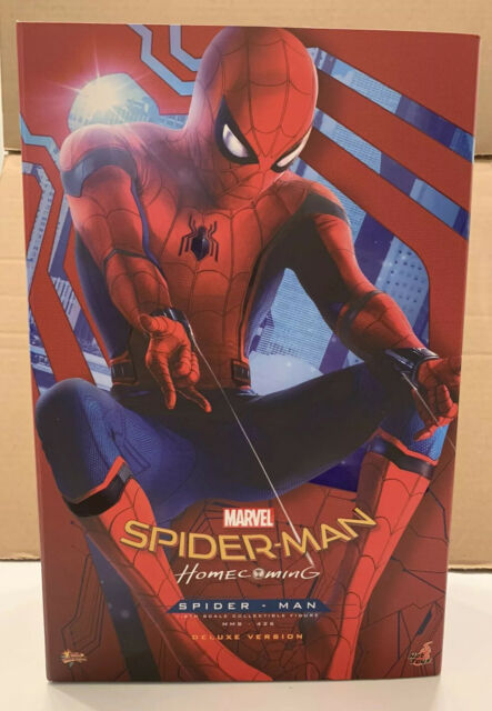 Hot Toys MMS 426 Spider-Man Homecoming (Deluxe Version) Peter Parker Figure