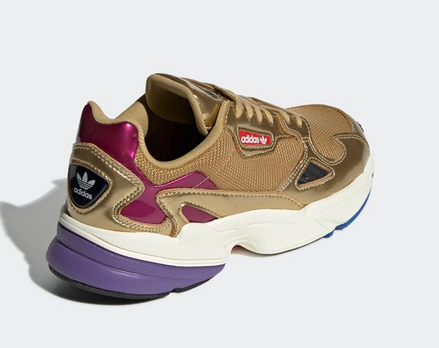 [Adidas Originals] Falcon CG6247 - gold, Women's Running shoes Lifestyle Lifestyle Lifestyle Sneaker 62308a