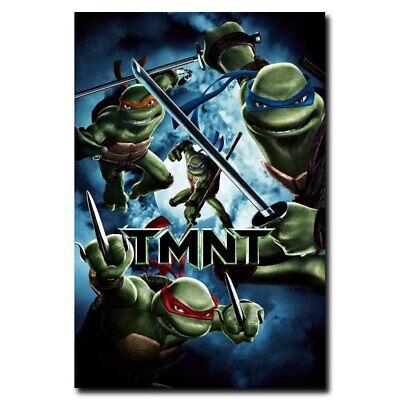 Teenage Mutant Ninja Turtles Cartoon Movie Art Silk Poster 12x18 24x36