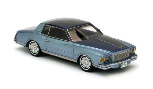 Chevrolet Monte-Carlo - azul   azul met 1978 44790 NEO 1 43