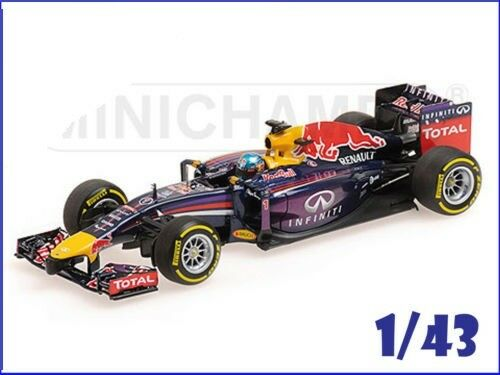 Red Bull RB10 - Version 2014 - S. Vettel - Minichamps ref : 410140001
