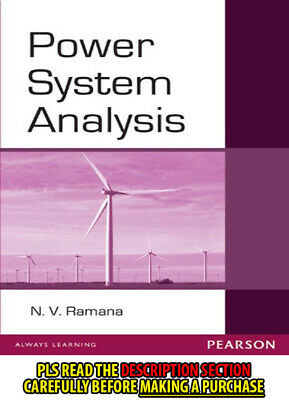 FAST SHIP: Power System Analysis 1E by Ramana ...