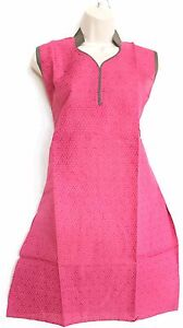 Indian Rayon Cotton Kurti Kurta Casual New Women Kurti Size L / 42 USA SELLER