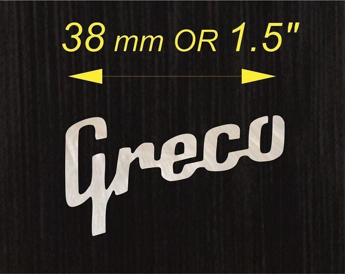 Madreperla con con con logotipo de Vintage Greco A + + 2d7155