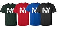 New I Love NY New York City  I heart New York T-shirt Tee Yankees Fan Men s-3xl