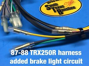 87-88 Honda TRX250R wiring harness **with brake light circuit | eBay | Trx 250r Wiring Harness |  | eBay