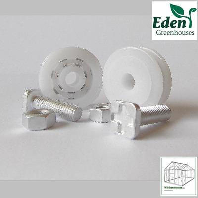 Eden//Elite Greenhouse 28mm Door Wheels pair
