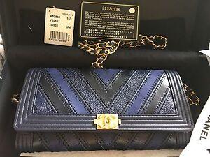 f1df5128ba39 Image is loading 2016-Chanel-Boy-Wallet-On-Chain-WOC-chevron