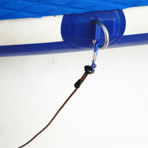 2pcs 12 /'4mm elastische Kajak-Kanu-Boots-Schleppseil-Leine mit 2
