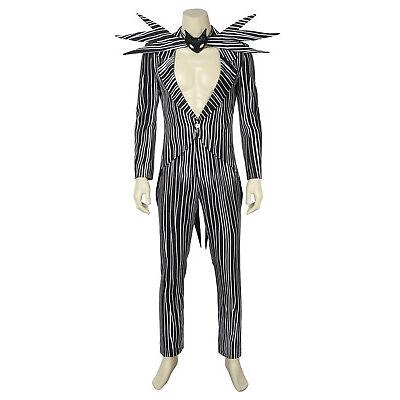 The Nightmare Before Christmas Jack Skellington Cosplay Costume Fancy Dress