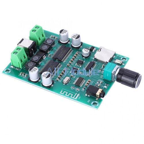 20W AUX Bluetooth 5.0 Audio Stereo Digital Amplifier Board Dual Channel 20W