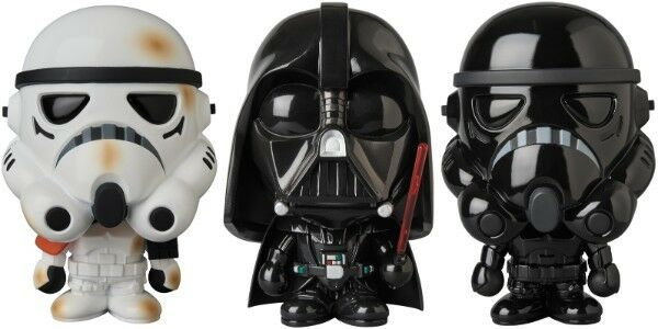 VCD x BABY MILO(R) SAND TROOPER DARTH VADER & SHADOW STORMTROOPER Figure Sets