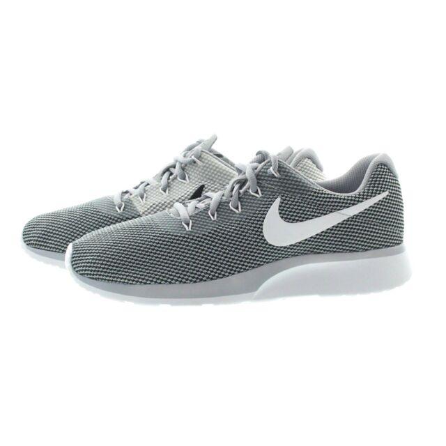 8ef2252479eb Nike 921669 001 Mens Tanjun Racer Mesh Upper Lightweight Running Shoes  Sneakers