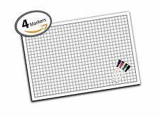 "Battle Grid Game Mat - 36"" x 24"" - Table Top Role Playing Map - DnD Role Play..."