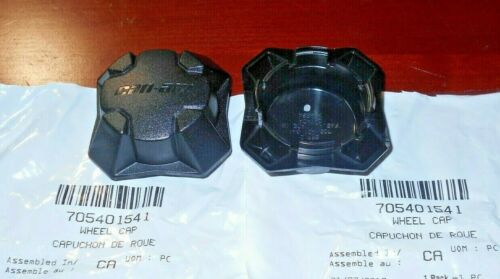 CAN-AM COMMANDER TRAXTER DEFENDER FRONT,REAR WHEEL CENTER NUT HUB CAP,COVER X2