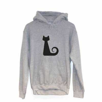 Spiral CatHoodie Shape Print Clothing Animal Lover Gift Vegan Hippy