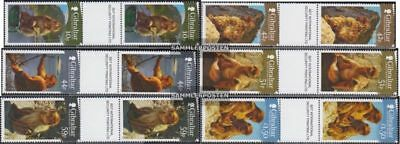 Animal Kingdom Topical Stamps The Cheapest Price Gibraltar 1437zs-1442zs Between Steg Couples Mint Never Hinged Mnh 2011 Berberaf Strengthening Waist And Sinews