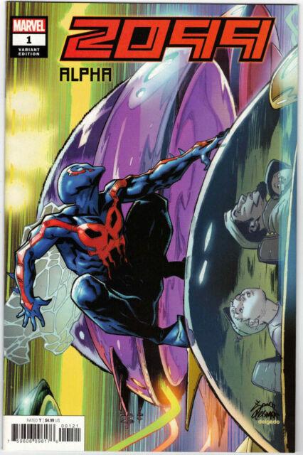 2099 ALPHA #1 1:50 RYAN STEGMAN VARIANT SPIDER-MAN MARVEL COMICS 2019 SCARCE HTF