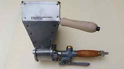 Zielstrebig Putzwerfer Verputzpistole Mörtelpistole Mörtelwerfer Verputzgerät Mit 1+3 Loch üBerlegene Materialien Baugewerbe Business & Industrie