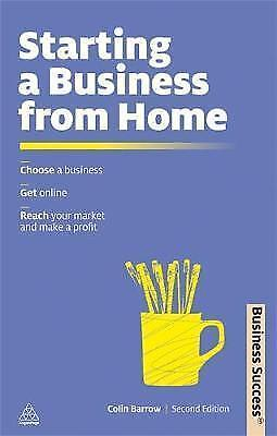 1 of 1 - Barrow, Colin, Starting a Business from Home (Business Success), Very Good Book