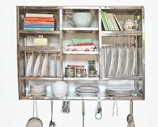 Dish Drying Rack Kitchen Cabinet Stainless Steel 76X107 CM