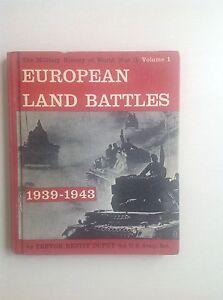 RARE-WAR-BOOK-EUROPEAN-LAND-BATTLES-1939-1943-BOOK-COLLECTORS-1962