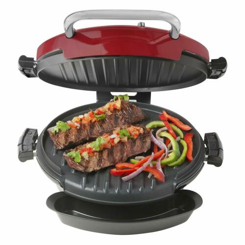 Red George Foreman GRP0720RQ Grilling Machine Electric Nonstick Grill