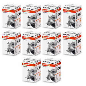 10x-Osram-H7-Classic-64210-CLC-Lampe-12V-55W-64210CLC-Autolampe-Gluehlampe