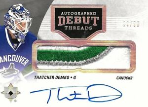 2016-17-ULTIMATE-COLLECTION-THATCHER-DEMKO-R-C-AUTO-PATCH-99-VANCOUVER