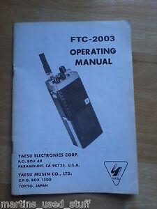 Yaesu-FTC-2003-Manual