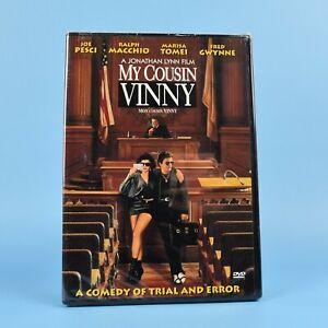 My-Cousin-Vinny-DVD-Joe-Pesci-Marisa-Tomei-Bilingual-BRAND-NEW-SEALED