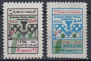 Iraq-iraq-1997-mi-1572-73-martiri-martiri