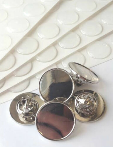 16mm 18mm 25mm Round Customize with Resin Dome Nickel Finish Pin Badges