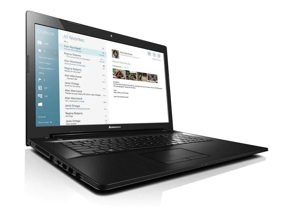 Lenovo G80, Intel 1.7 GHz, 6 GB ram