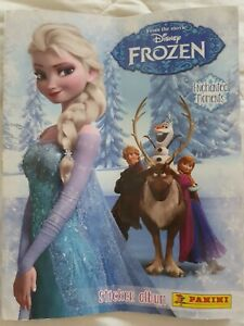 Frozen Enchanted Moments Sticker Album, Disney/Panini - partially completed