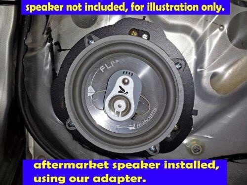 Subaru 1993-2007 Impreza Rear Door Speaker Adapter Spacer Rings SAK040/_475