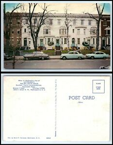 WASHINGTON-DC-Postcard-Letterman-039-s-The-Big-White-House-Hotel-F28