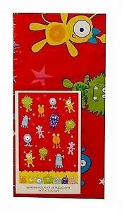 Image Is Loading Monster Red Kids Party Plastic Tablecloth High Quality