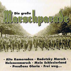 DIE-GROssE-MARSCHPARADE-034-WWI-amp-WWII-034-CD-NEU-amp-OVP-20-Tracks-Compilation