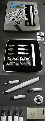 # Kaweco Sports Calligraphy Fountain pen Set in white with Box 4 Springs #