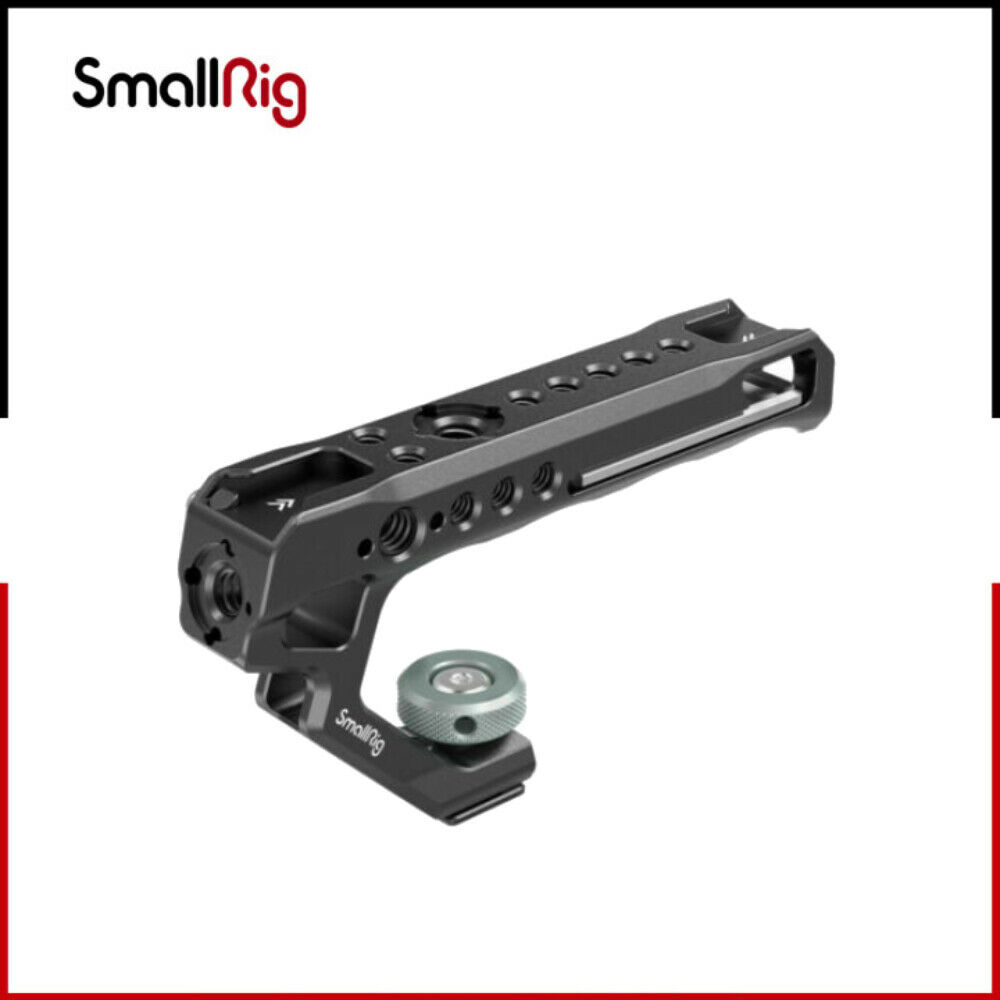 SmallRig Top Handle with Cold Shoe Adapter Mount and Cheese-Style Grip 2094C
