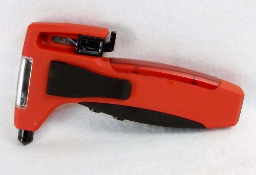 Emergency Car Tool ~ Window Hammer Belt Cutter LED Light USB Power Bank