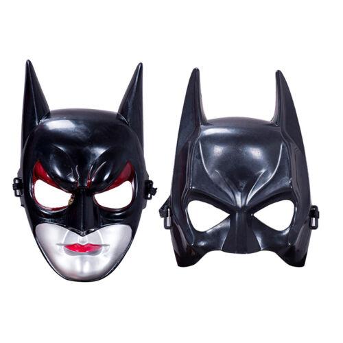 Halloween Batman Mask Children Adult Masquerade Party Mask Bat Man Face Costume