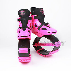 Pink Jump Shoes Jumping Shoes Bounce Shoes for US 5-6.5...