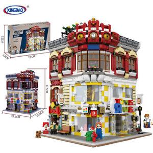 Bausteine-Xingbao01006-Toystore-Bookstore-Modell-DIY-Geschenke-5491PCS-OVP
