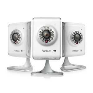 Funlux-3Pack-HD-720P-Network-Indoor-Wireless-IP-Home-WiFi-Audio-Security-Camera